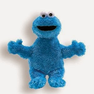 Cookie Monsters Sesame Street