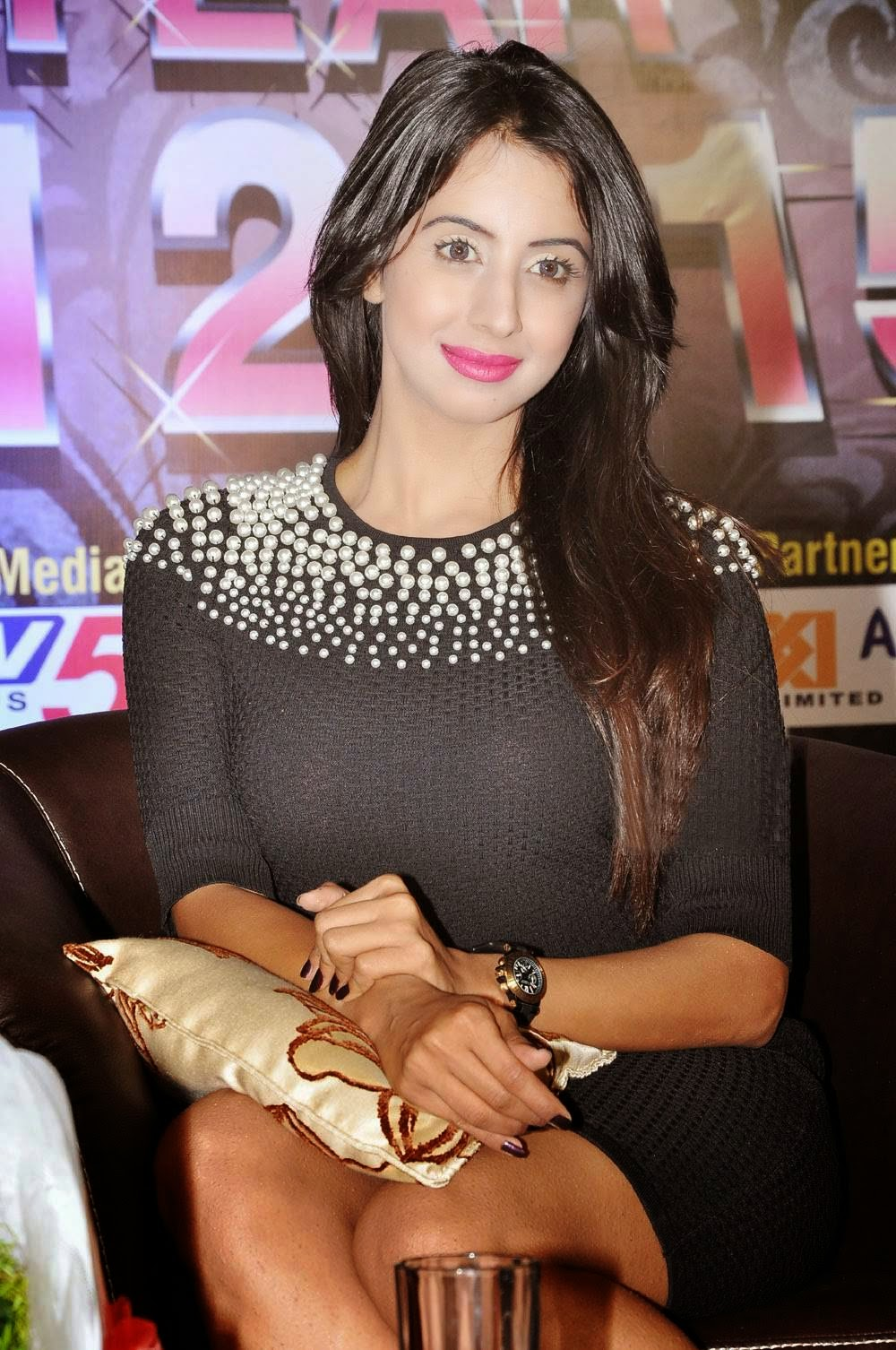 Sanjjanaa Stills At Country Club Hospitality & Holidays Meet
