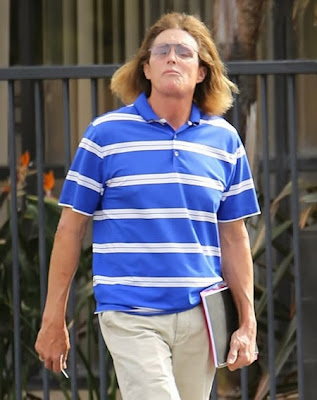 Bruce Jenner dressed as woman funny