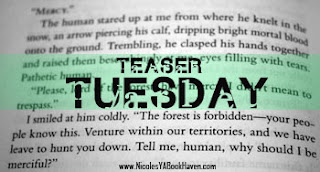 Teaser Tuesday!