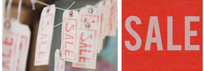 sale labels, shopping, retail