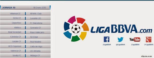 Jadwal La Liga Spanyol 2014-2015
