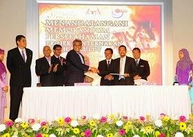 MOU PROJEK TERNAKAN LEBAH KELULUT ANTARA SYAMILLE DAN KERAJAAN MALAYSIA (KKLW)