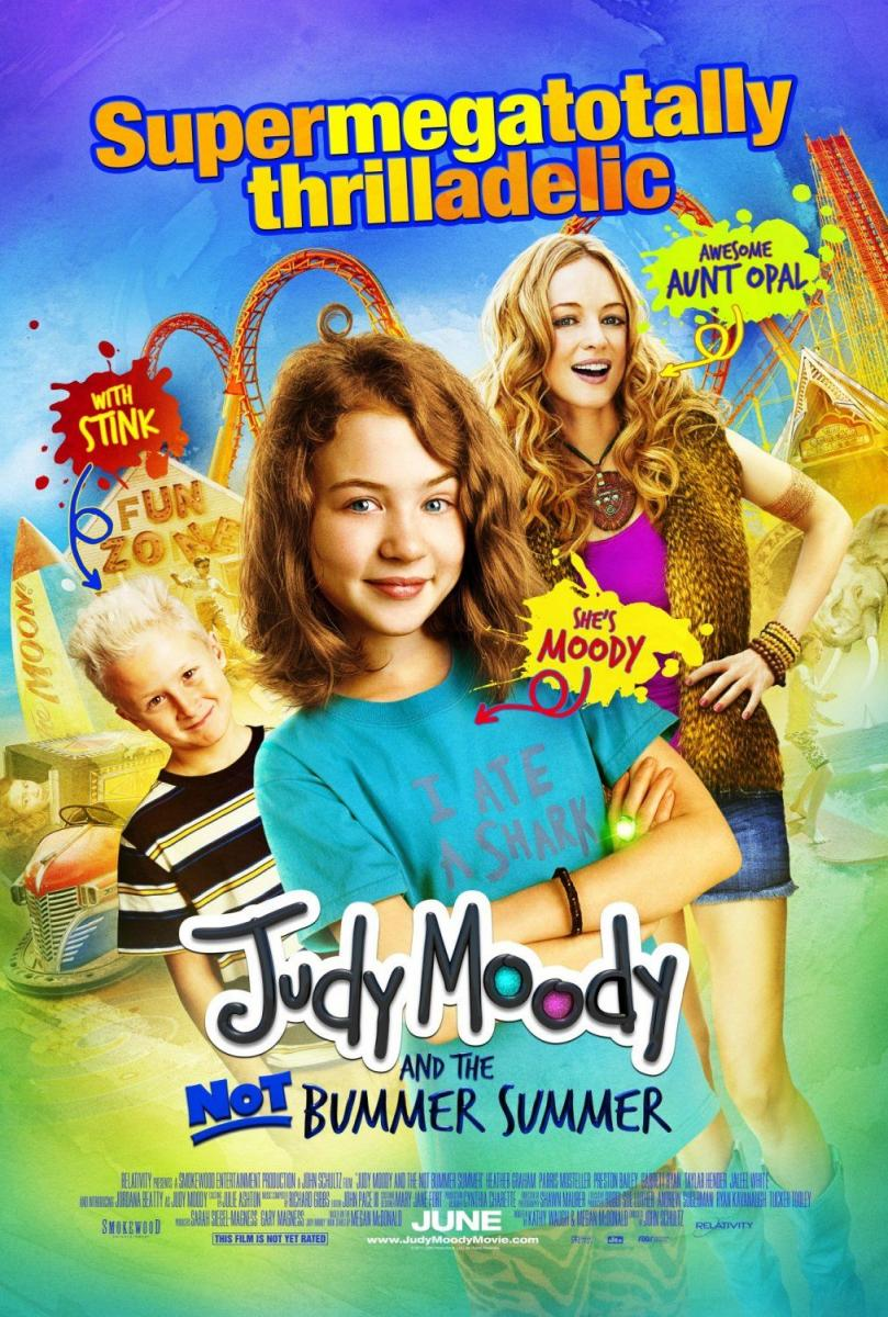 Ver pelicula Judy Moody and the Not Bummer Summer (2011) Online Latino online