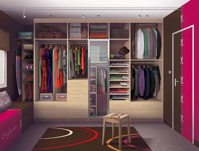 comment d corer un dressing. Black Bedroom Furniture Sets. Home Design Ideas