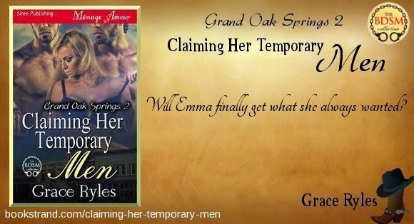 Claiming Her Temporary Men by Grace Ryles