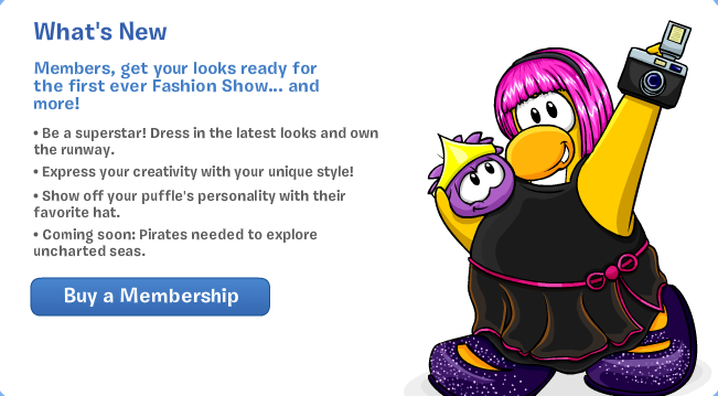 club penguin whats new