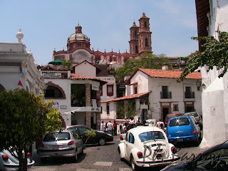 Paysages du Mexique Taxco ville coloniale blog voyage photo