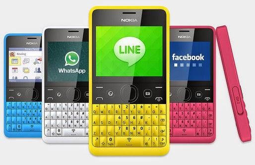 Gambar Nokia Asha 210 Dual Sim
