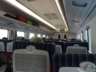 自强号火车