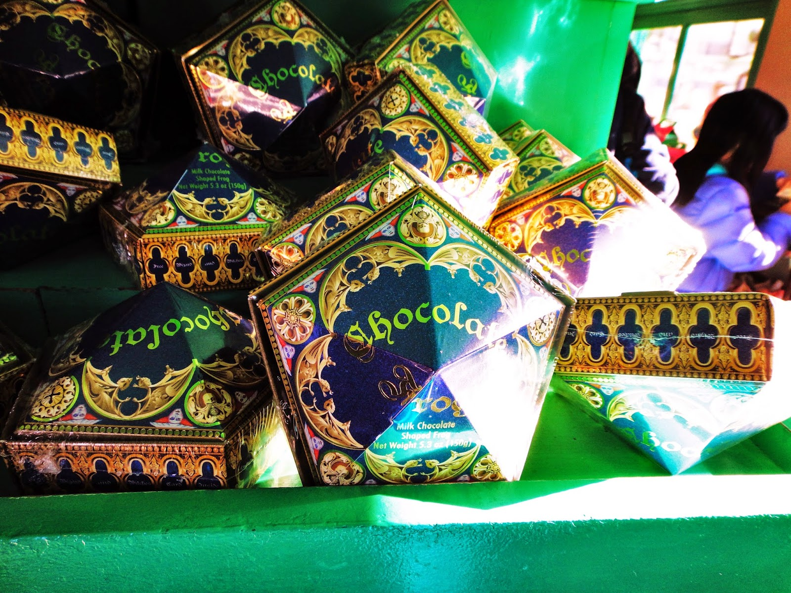 Sara Writes: Chocolate Frogs at Honeydukes