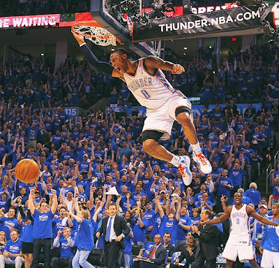 Russell Westbrook Gets Blocked