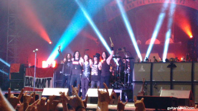 slash end of the show clam austria 2015