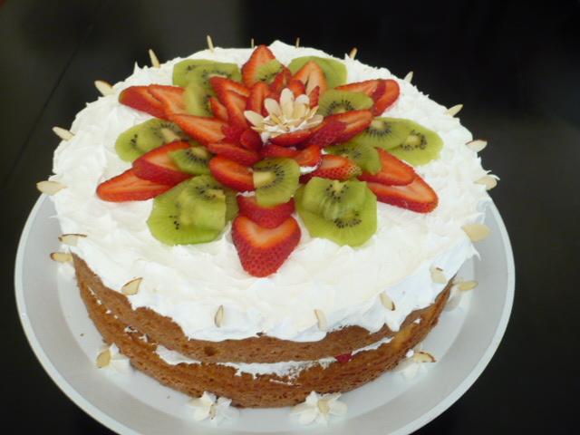 Decoracion De Pasteles Con Frutas | Search Results | Libro de Recetas