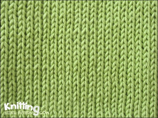 Basic Stockinette Stitch | Knitting Stitch Patterns