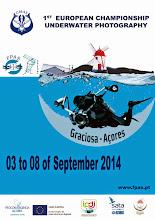 1º Campeonato Europeu de Fotografia Subaquatica CMAS AÇORES-GRACIOSA 2014