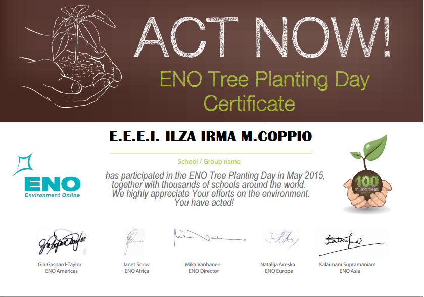 ENO TREE PLANTING DAY