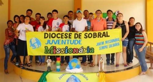 Juventude Missionária da Diocese de Sobral (CE) realiza Assembleia