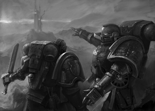 Presence of Feait: Dark Angels, Dark Eldar, and Dark Age