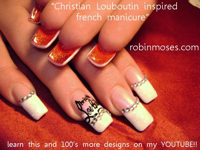 FIND THESE AND MORE IN THE ELEGANT NAIL ART PLAYLIST - Nail Art