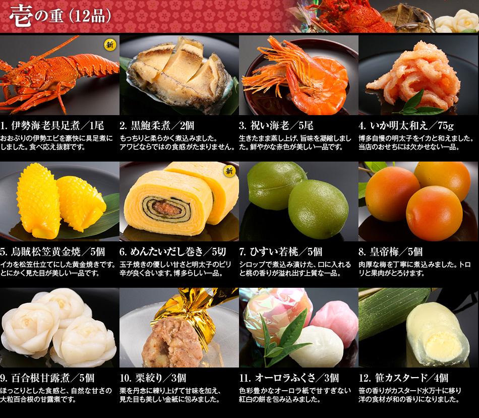 博多久松 本格和風豪華 おせち料理『千代』1234