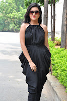 Mishti Chakraborthy sizzles in a tightblack sleevelss Gown and Leggings at Columbis Audio Release Must see