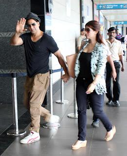 Akshay, Sonakshi & Imran leave for Dubai OUATIMD promotions