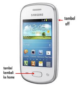 Cara Srenshot Pada Hp Samsung Galaxy Star
