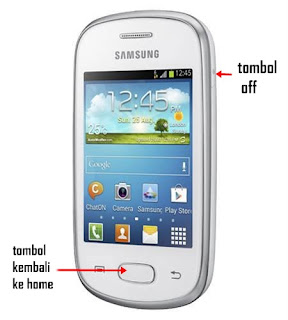 Cara Screenshot pada Samsung Galaxy Star Duos tanpa Aplikasi