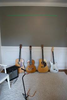 Guitars On Floor