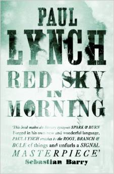 Red Sky in Morning Paul Lynch Un ciel rouge le matin