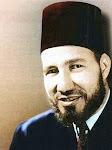 As Syahid Imam Hasan Al Banna Pengasas IkhwanulMuslimin. Semoga Allah mencucuri Rahmat Keatasnya