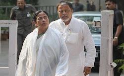 Mukul Roy & Mamata Banerjee