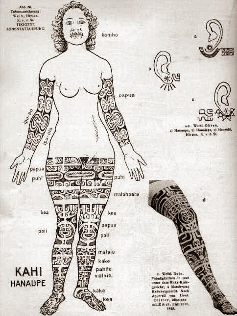 Excessivement Libre Le Role Du Tatouage Polynesien