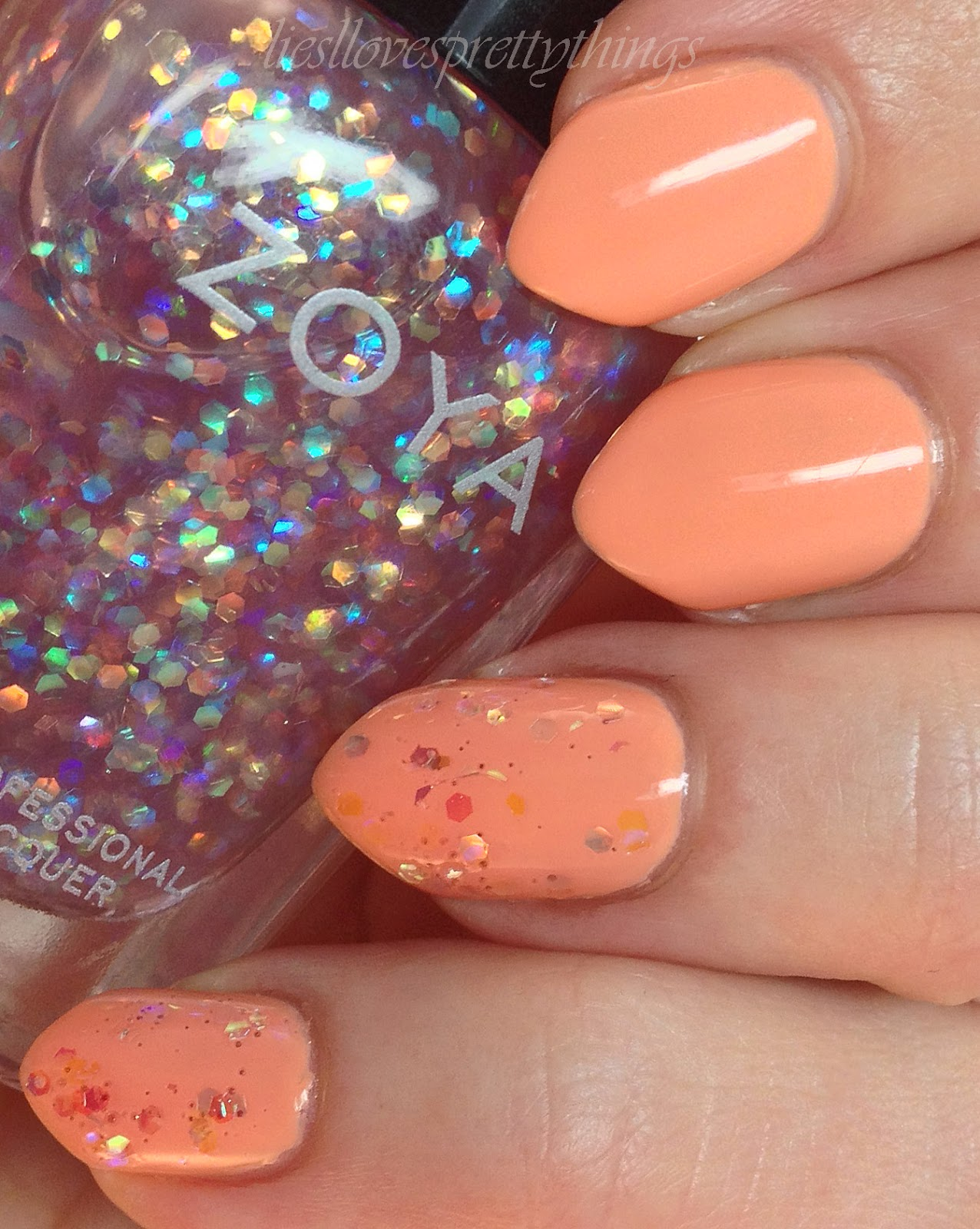 Zoya Cole swatch and review