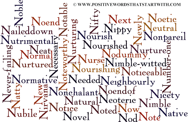 Adjectives that start with n positive word that start with n photos