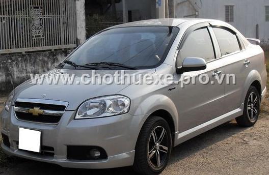 Cho thuê xe 4 chỗ Chevrolet Aveo đời mới 2014