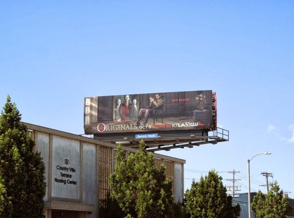 The Originals TV billboard
