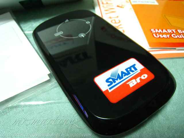 telling how to set up smart bro pocket wifi zte would