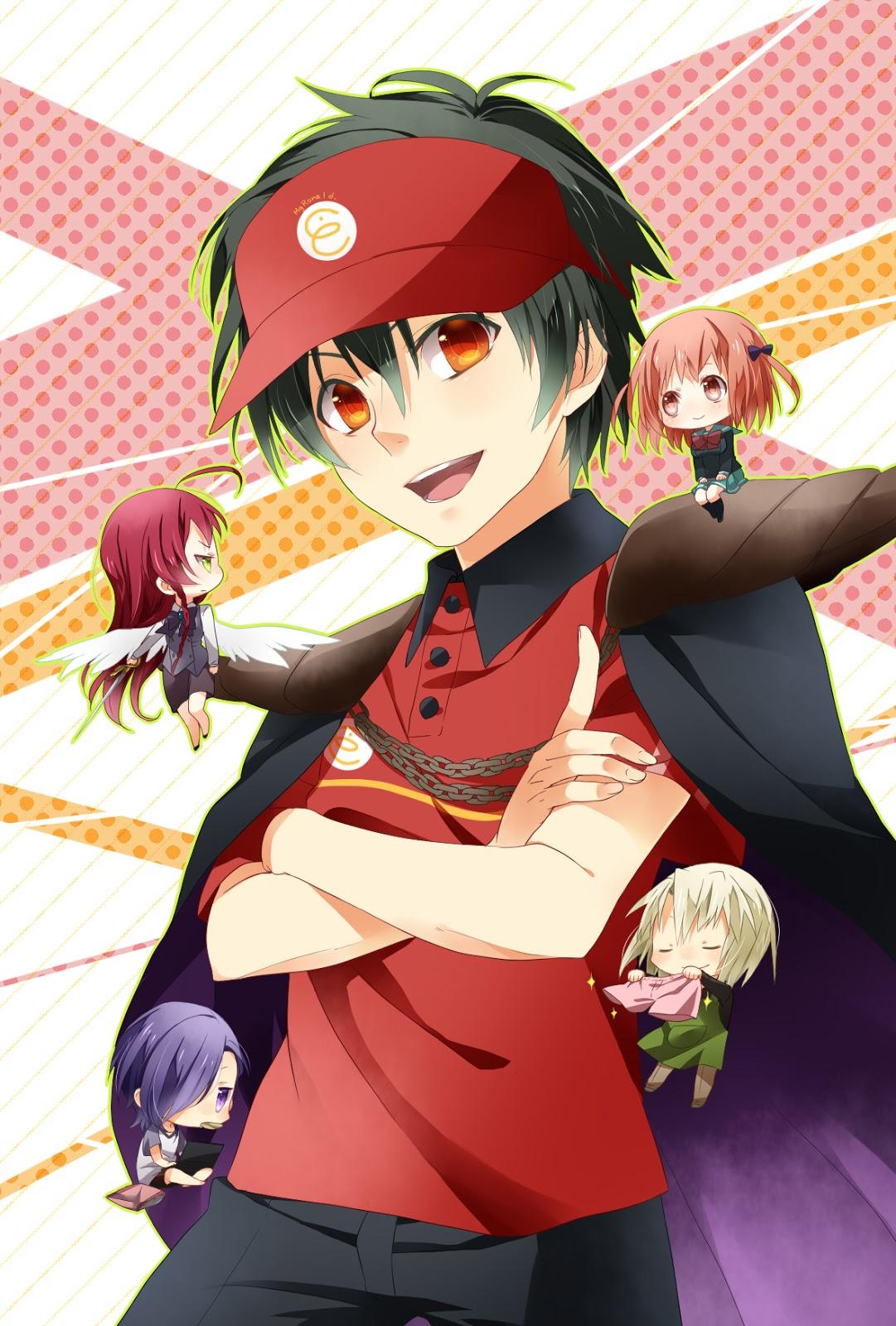 аниме сатана на подработке 1 сезон 8 серия