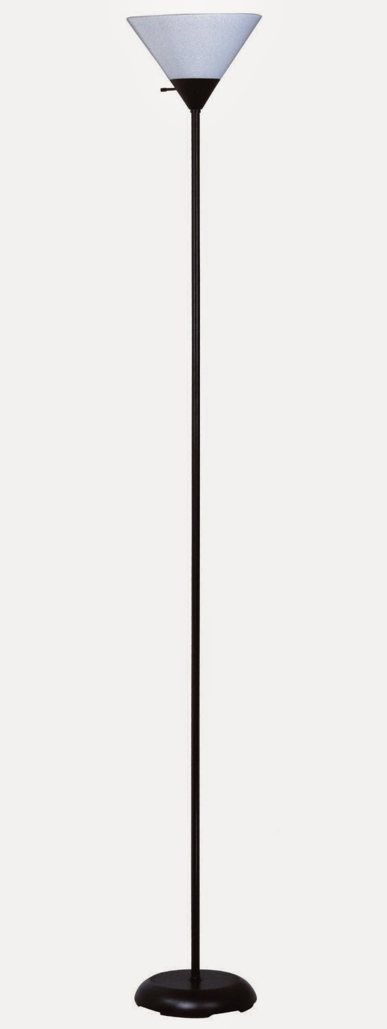 Madison Lighting Contemporary Design Incandescent Torchiere Floor Lamp