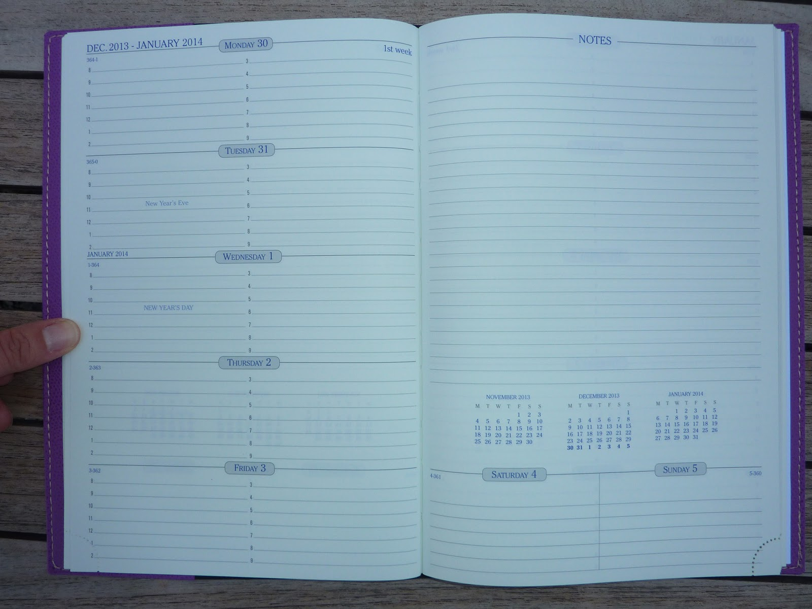 Plannerisms Quo Vadis Space 24 Week Notes Planner