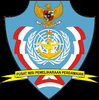 Logo Pusat Misi pemeliharaan perdamaian PMPP