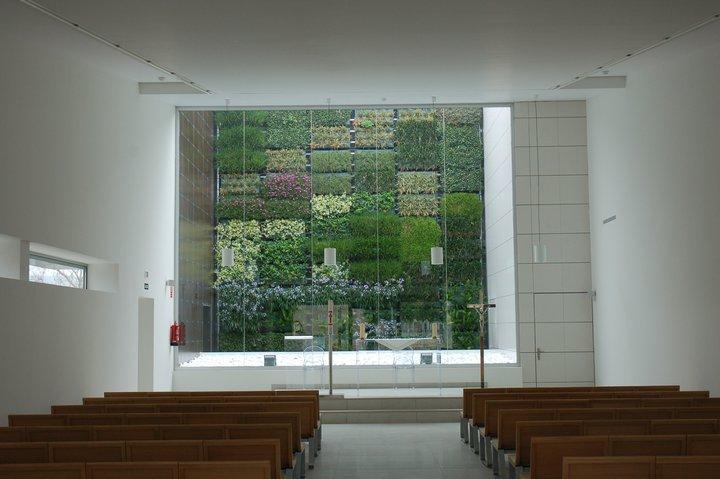 Mediterranean paradise nuevo jard n vertical de interior - Jardineria villanueva valencia ...