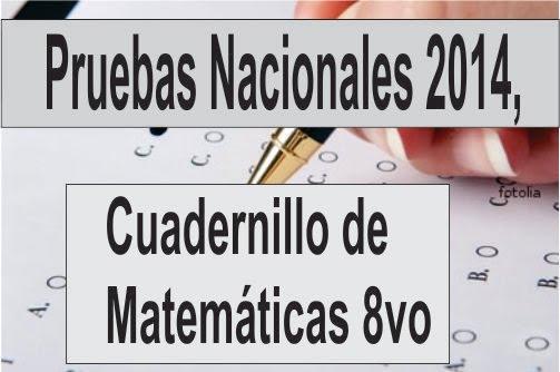 Pruebas nacionales 2014