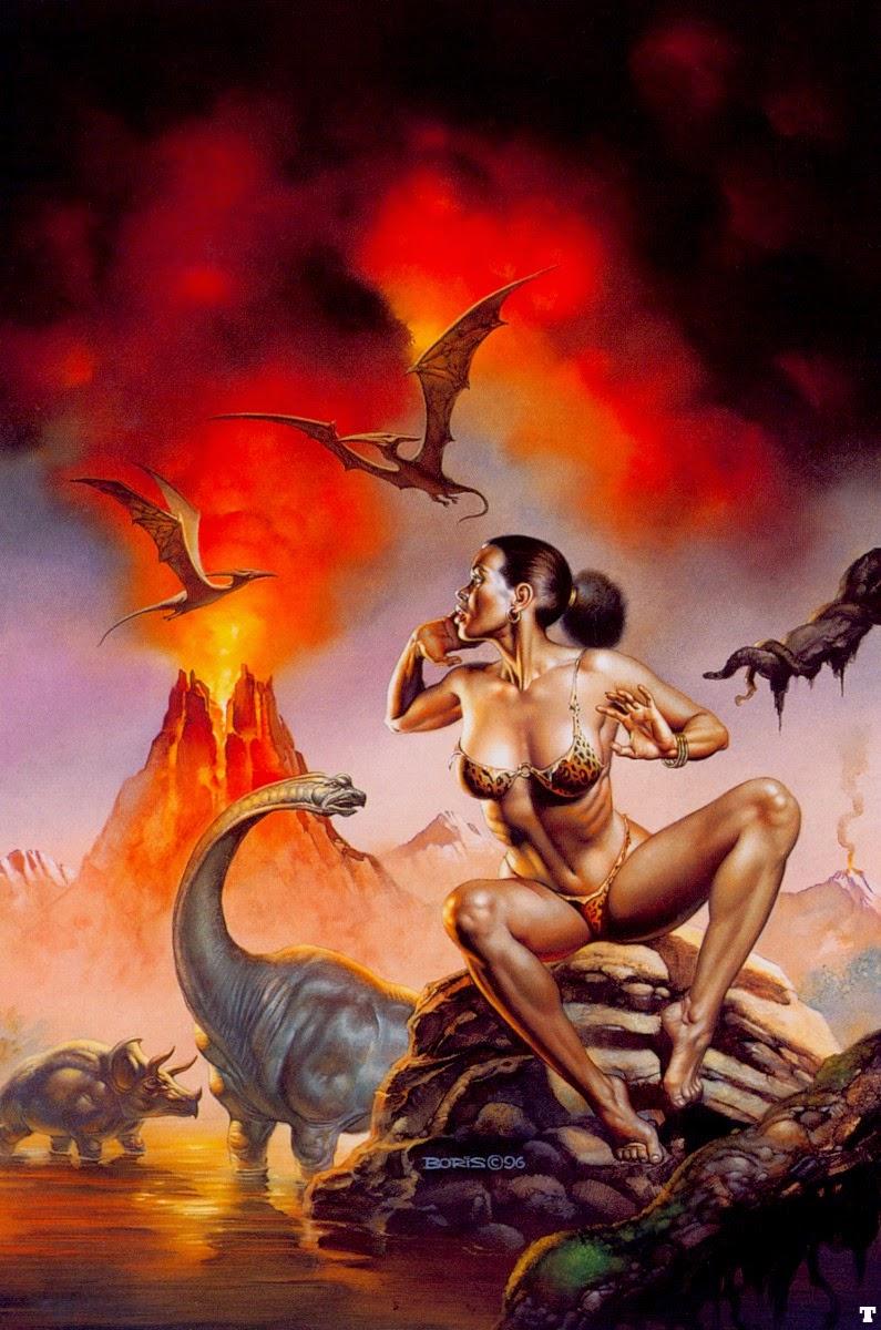 pintura dinossauros
