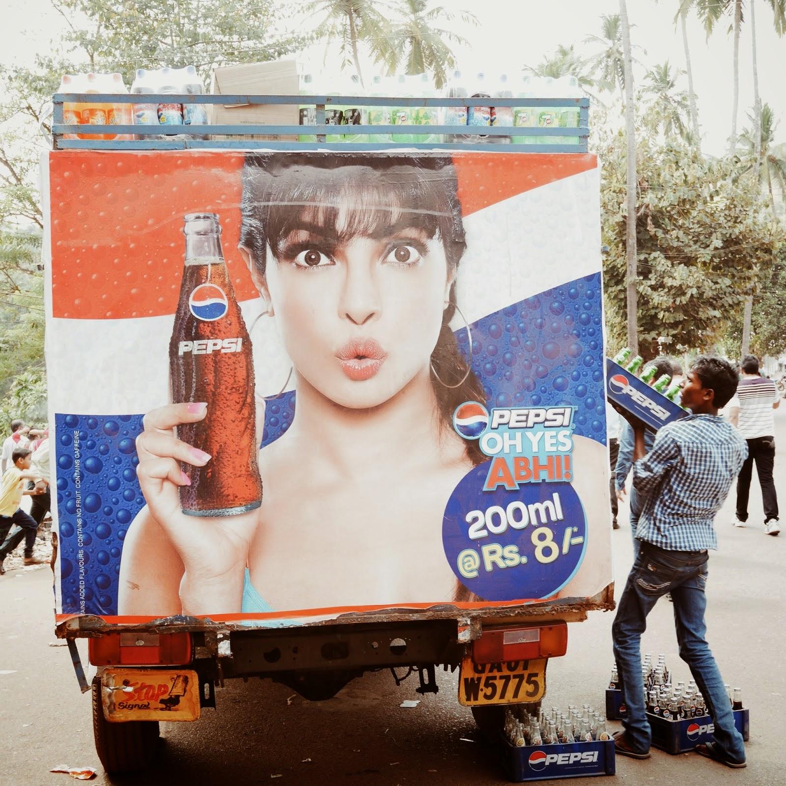Pepsi truck, Goa