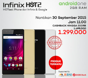 Infinix Hot 2 Android One Lazada Flash Sale