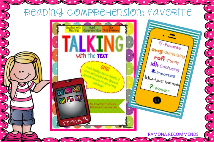 http://www.teacherspayteachers.com/Product/REVAMPED-Talking-with-the-Text-Comprehension-Helper-1003903