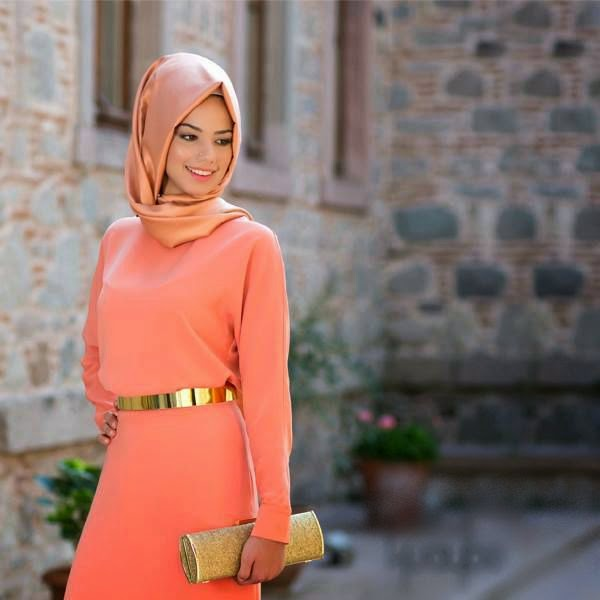 Islamic Hijab Dresses and Clothes Women Collection Spring and Summer 2014